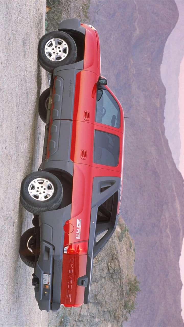 Chevrolet Avalanche фото сзади