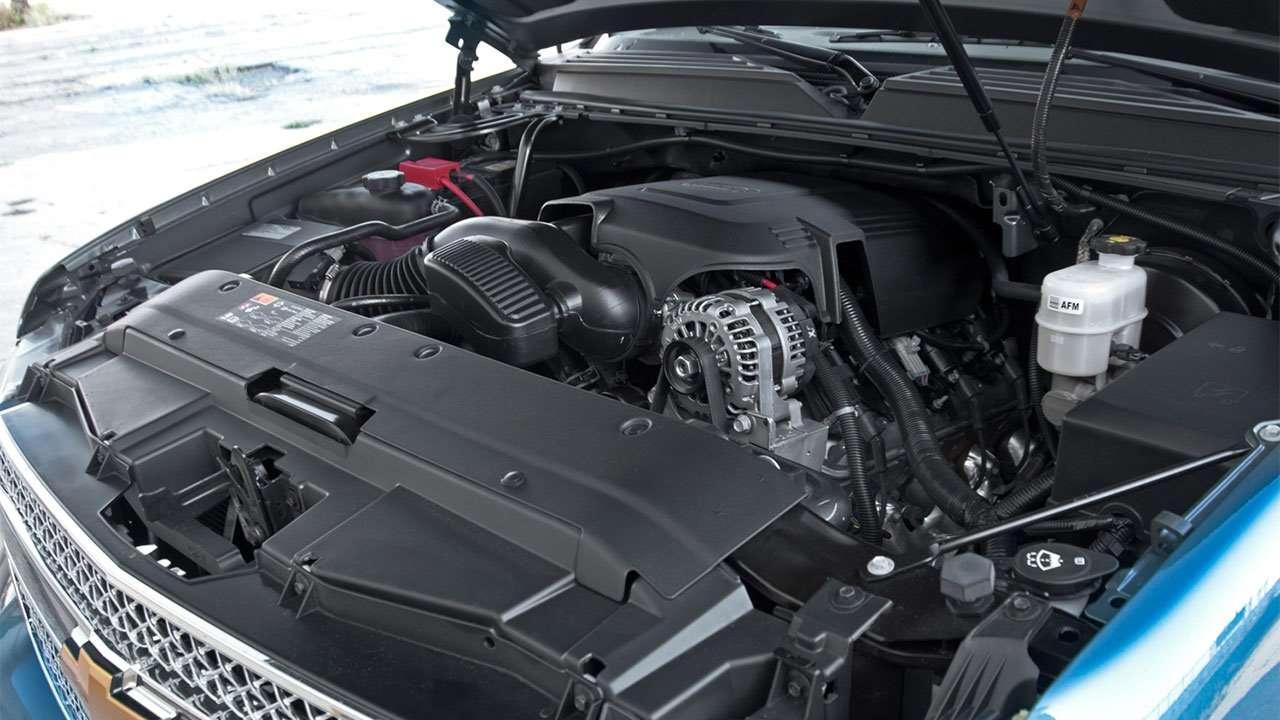 Фото мотора Шевроле Avalanche