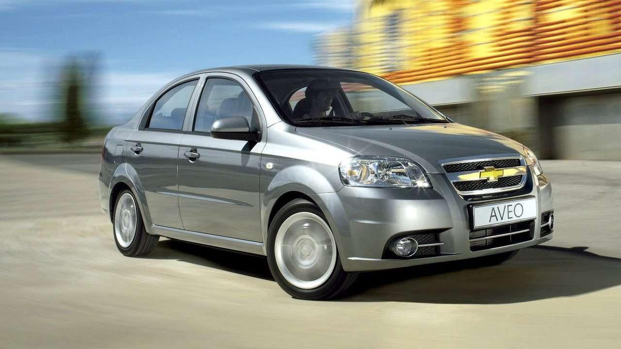 Chevrolet Aveo T250 (2006-2012) фото спереди