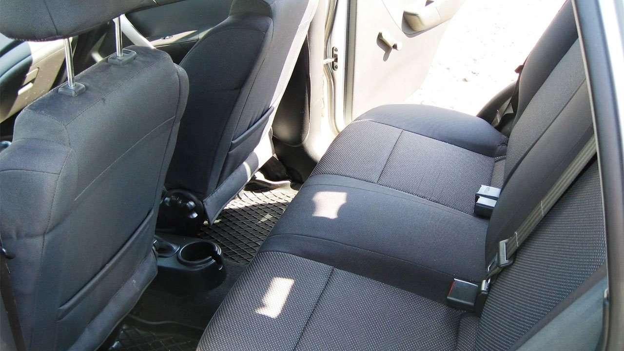 Задние сиденья Chevrolet Aveo T250
