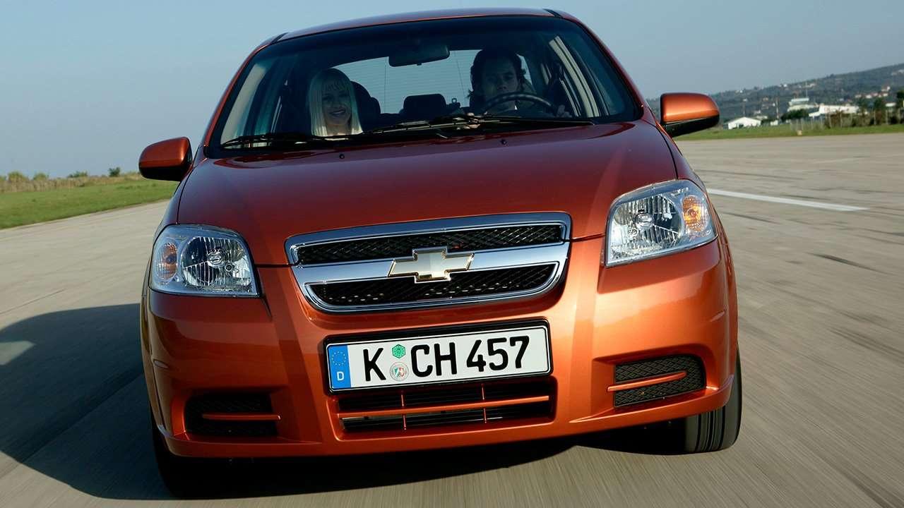 Chevrolet Aveo T250 (2006-2012) фото морды