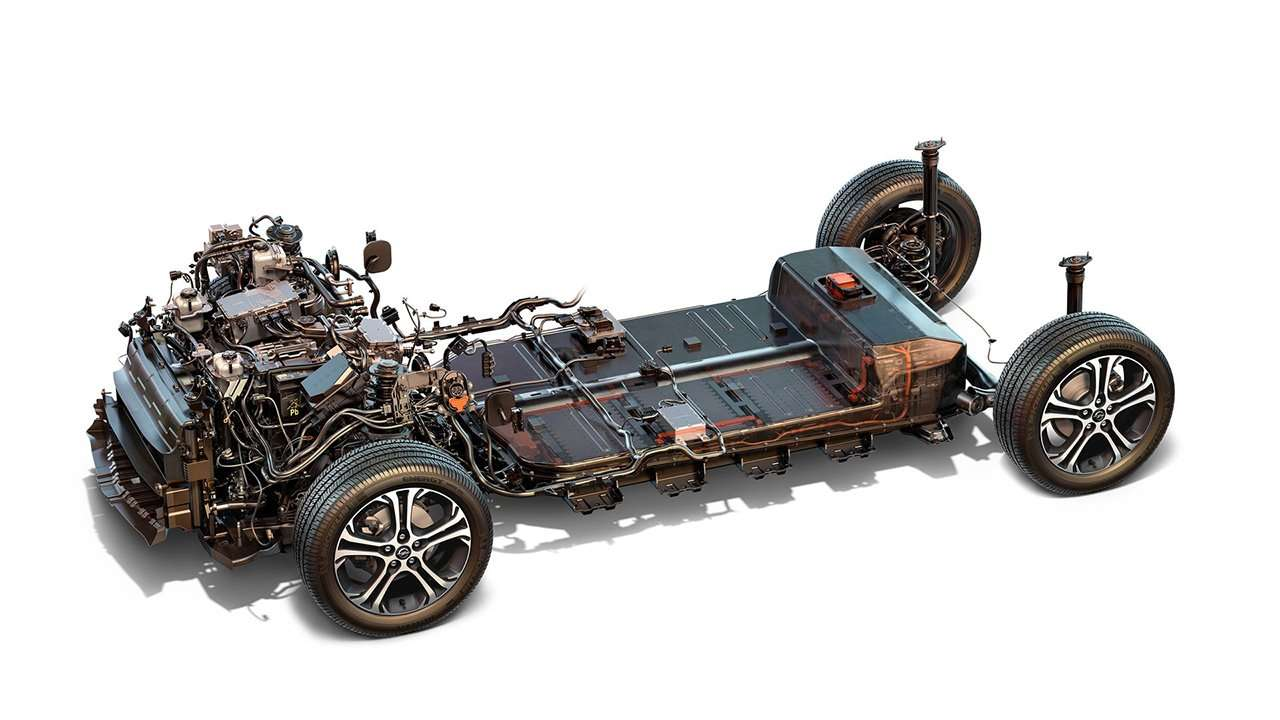 Начинка Chevrolet Bolt EV