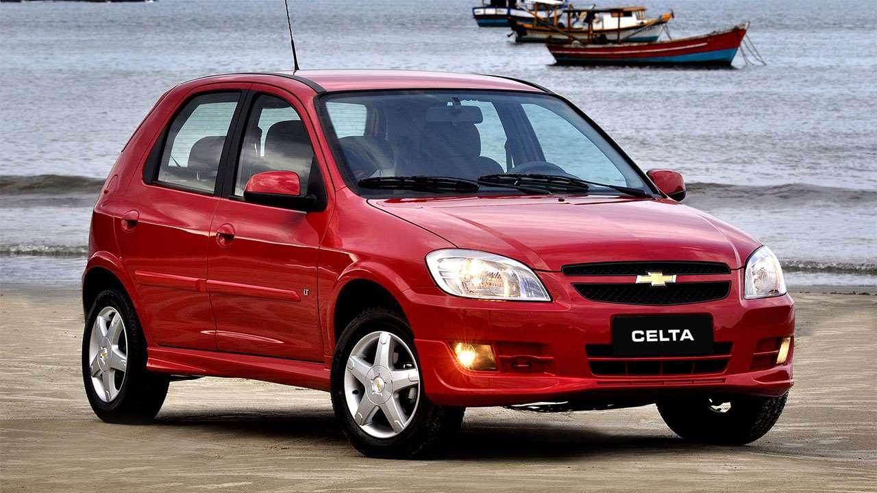 Chevrolet Celta фото спереди