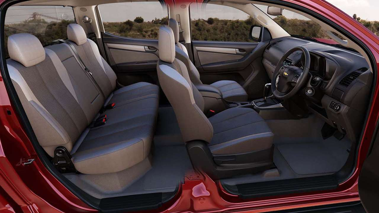 Chevrolet Colorado 2020-2021 сиденья