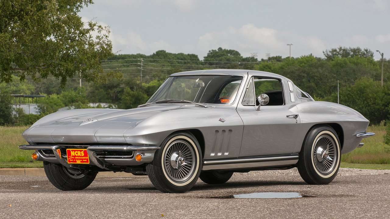 Chevrolet Corvette C2 Sting Ray (1963-1967) фото спереди