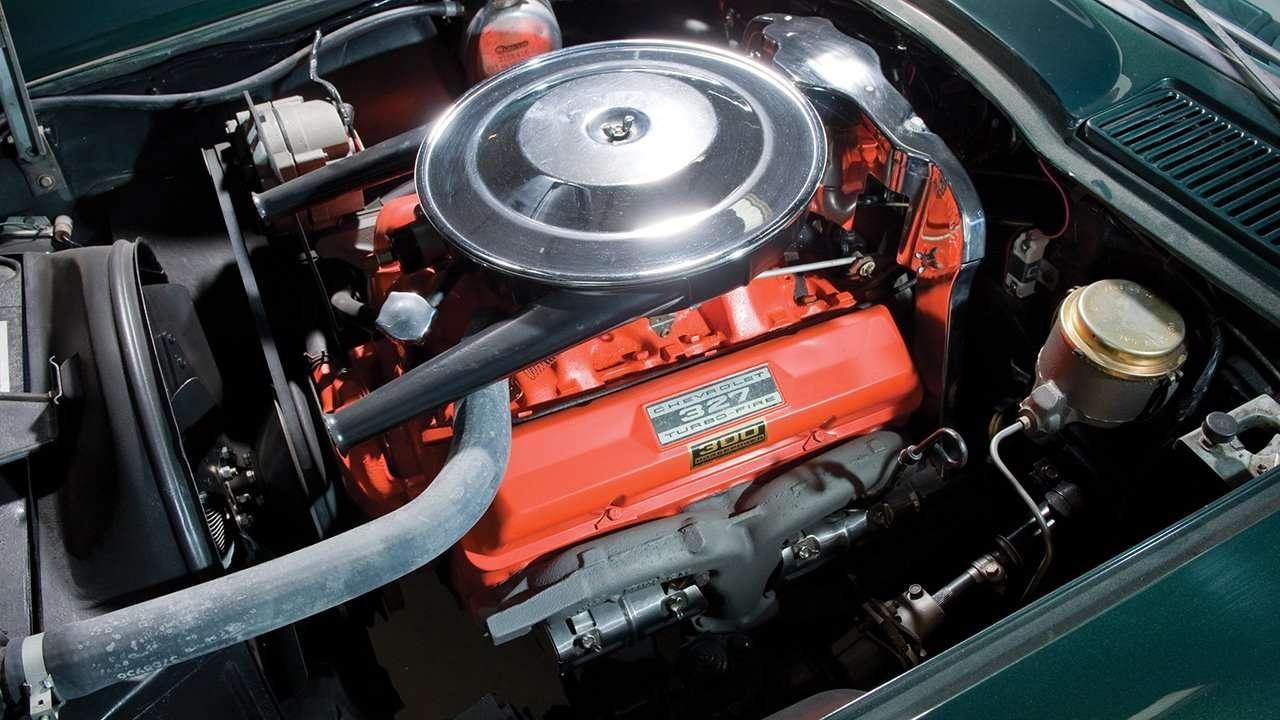 Двигатель Шевроле Корвет С2 Sting Ray (1963-1967)