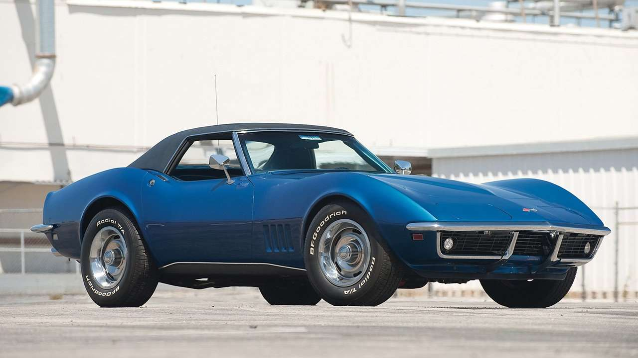 Chevrolet Corvette C3 Stingray (1968-1982) фото спереди