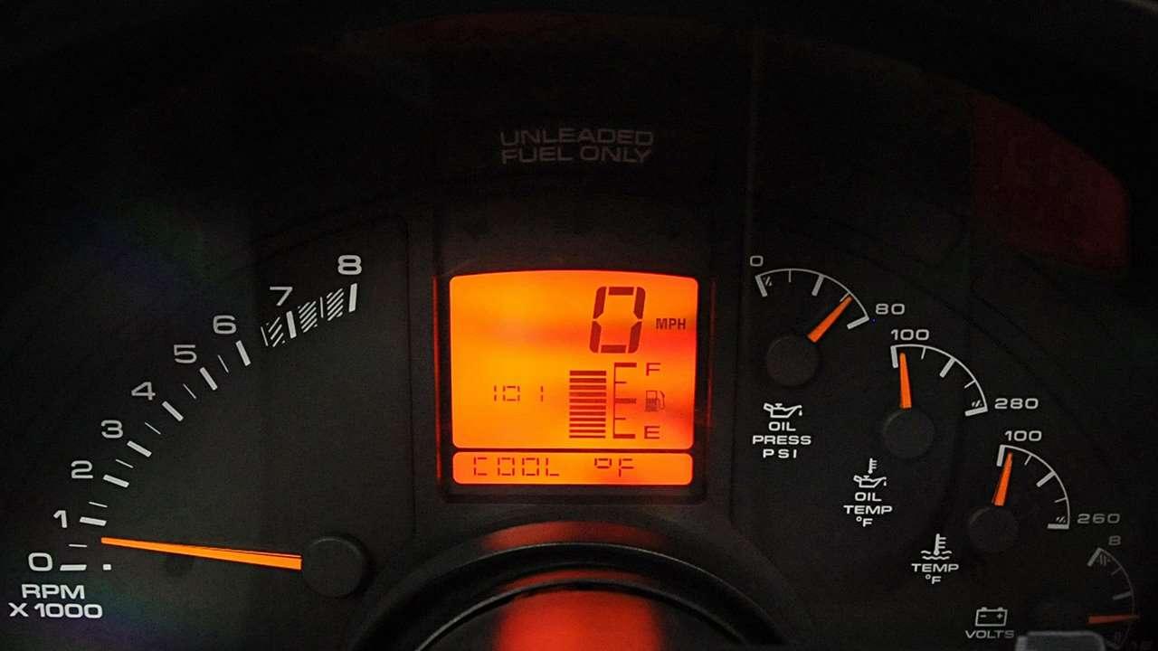 Приборная панель Chevrolet Corvette C4 Stingray (1983-1996)