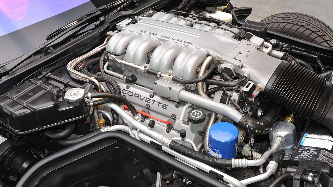 Фото мотора Chevrolet Корвета С4