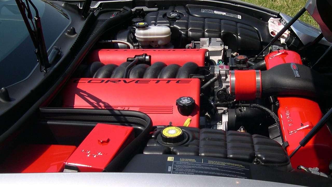 Фото двигателя Шевроле Корвет С5 (1997-2004)