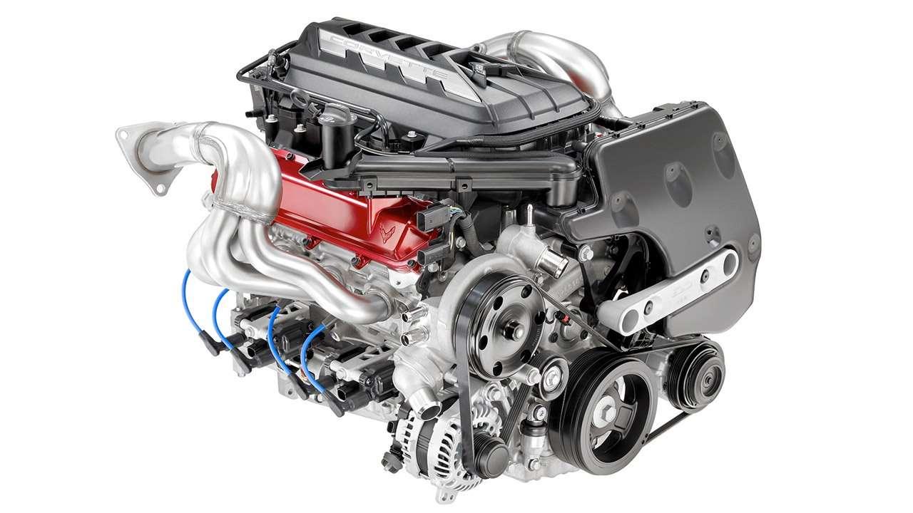 Двигатель нового Шевроле Корвет 2020