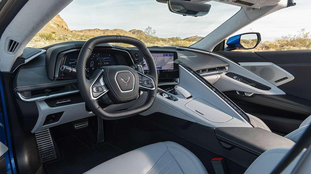 Салон Chevrolet Corvette 2020