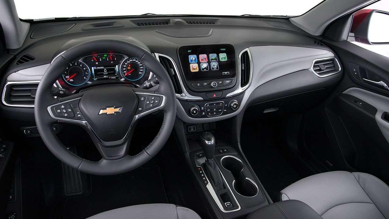 Салон Chevrolet Equinox 2020-2021