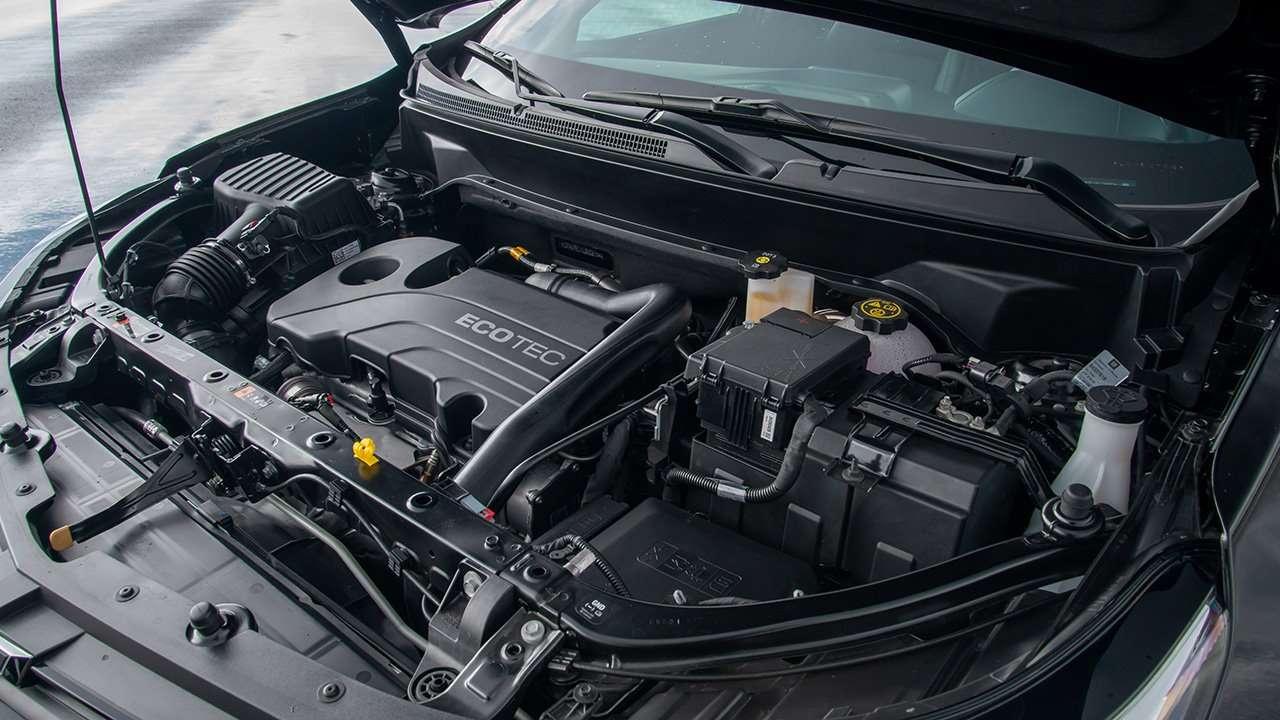 Фото двигателя Шевроле Эквинокс 2020-2021