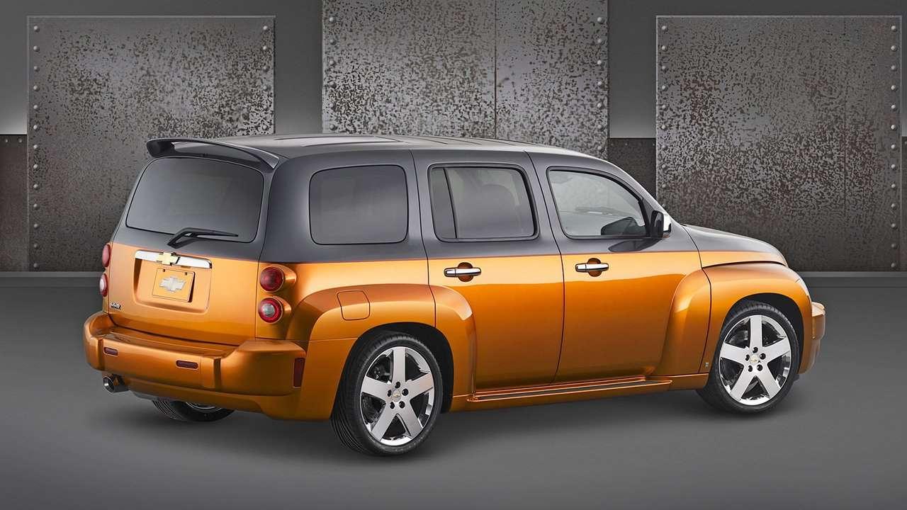 Chevrolet HHR фото сзади