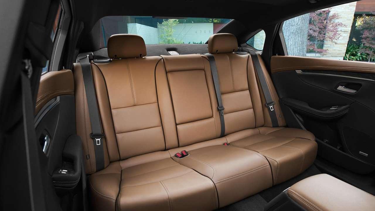 Chevrolet Impala 2019-2020 интерьер