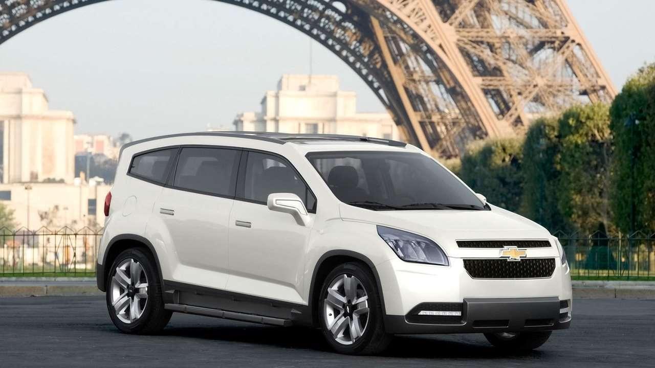 Chevrolet Orlando фото спереди