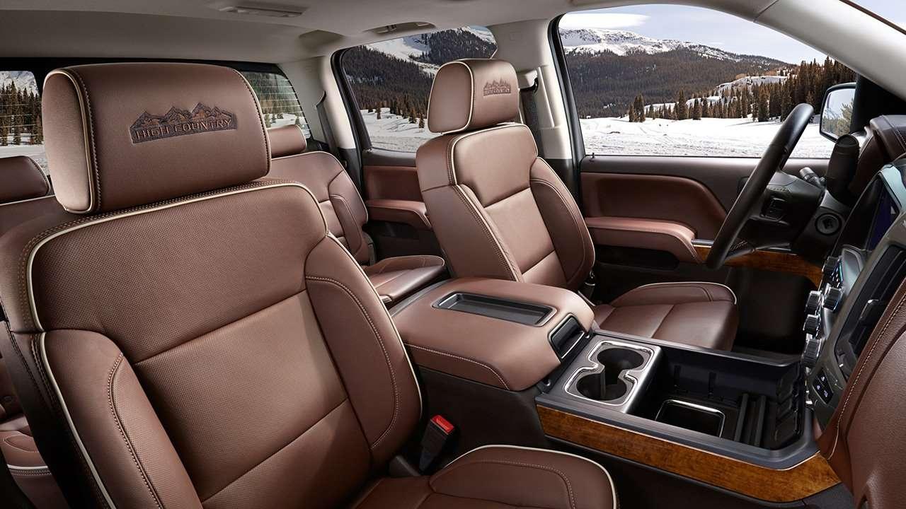 Chevrolet Silverado 2016-2017 GMT K2XX интерьер