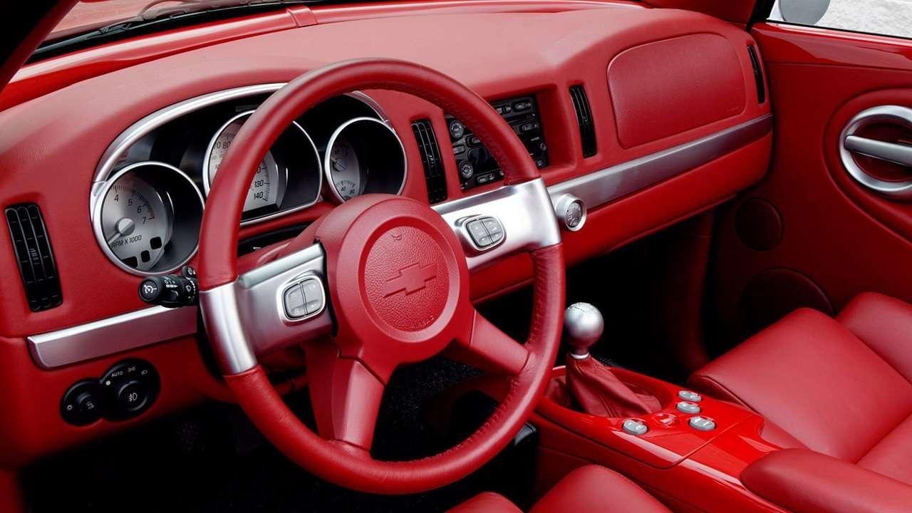 Chevrolet SSR салон