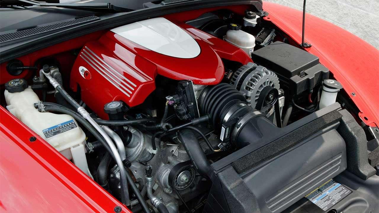 Фото двигателя Шевроле SSR