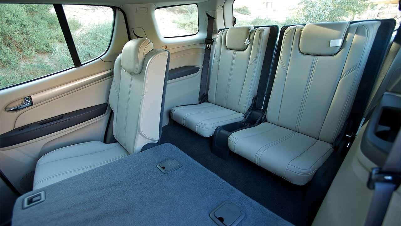 Задние сиденья Chevrolet TrailBlazer