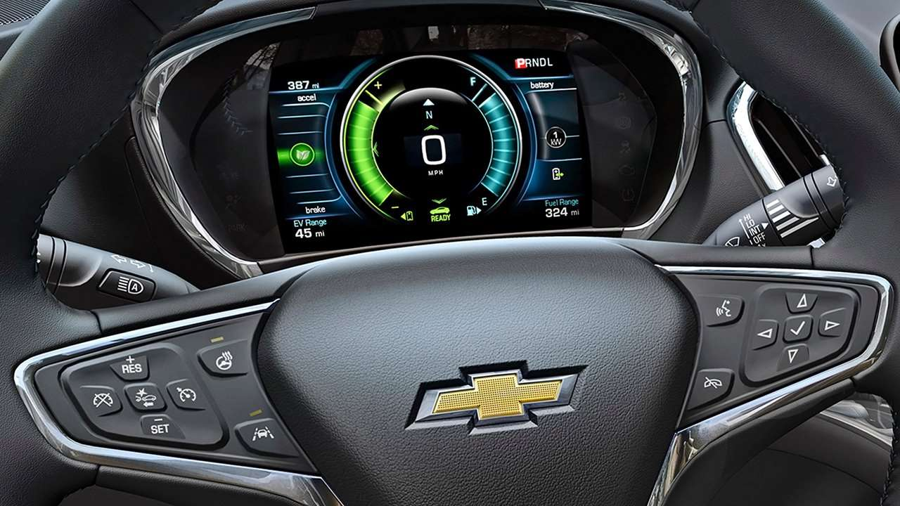 Chevrolet Volt 2016-2017 фото руля