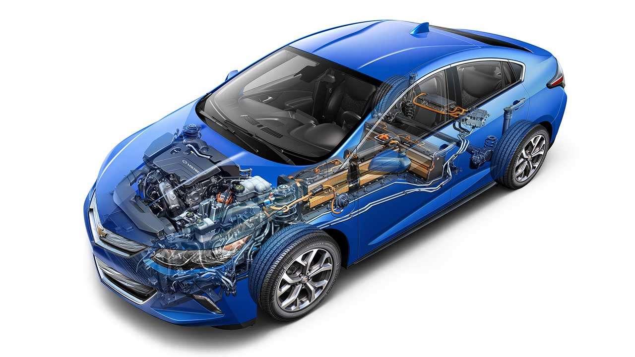 Схема Chevrolet Volt 2016-2017