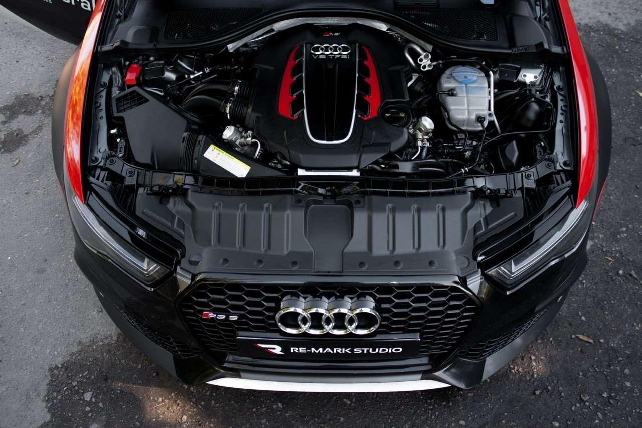 Двигатель Audi RS6