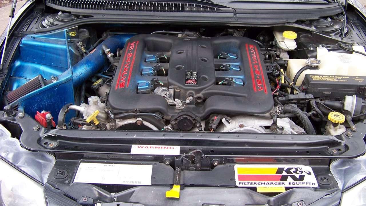 3,5-литровый мотор