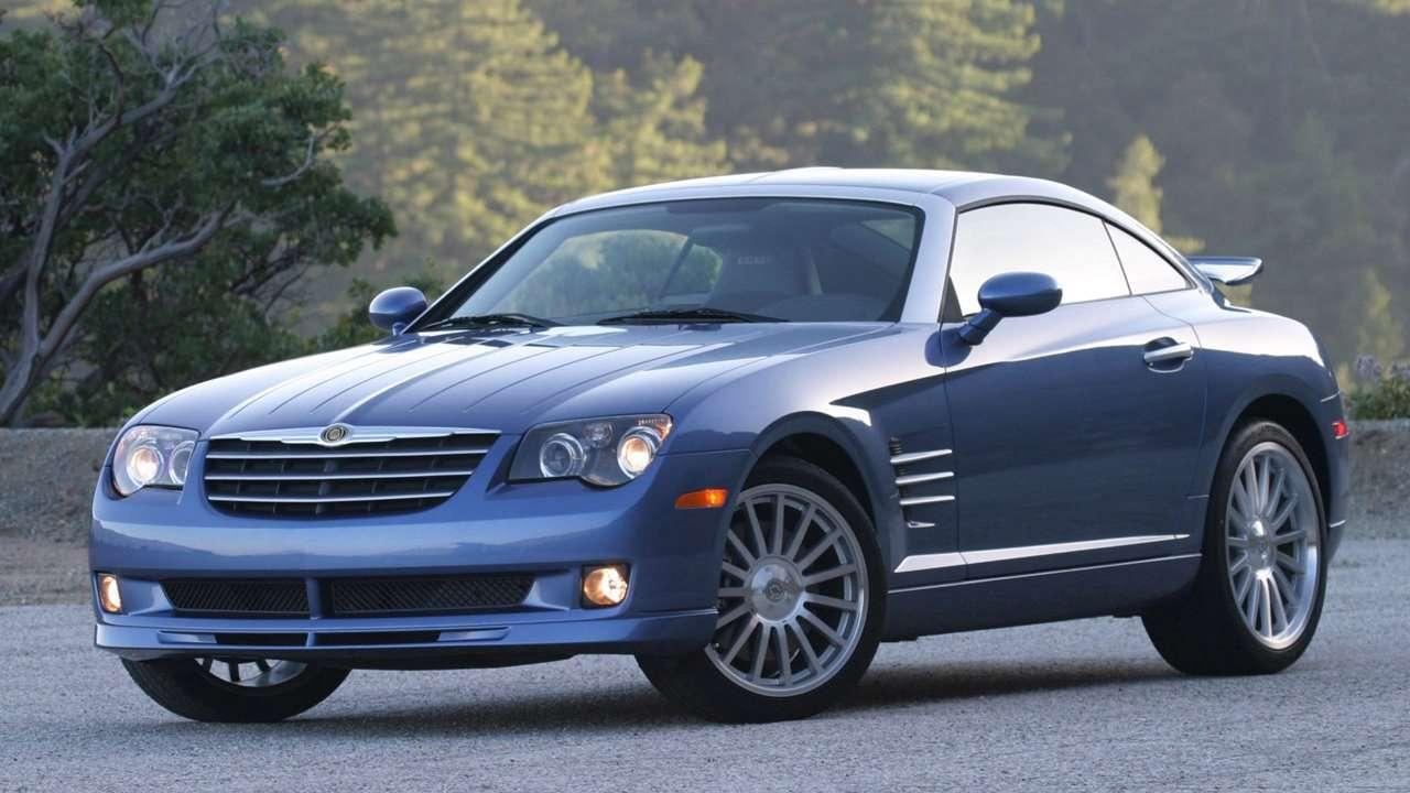 Chrysler Crossfire фото спереди