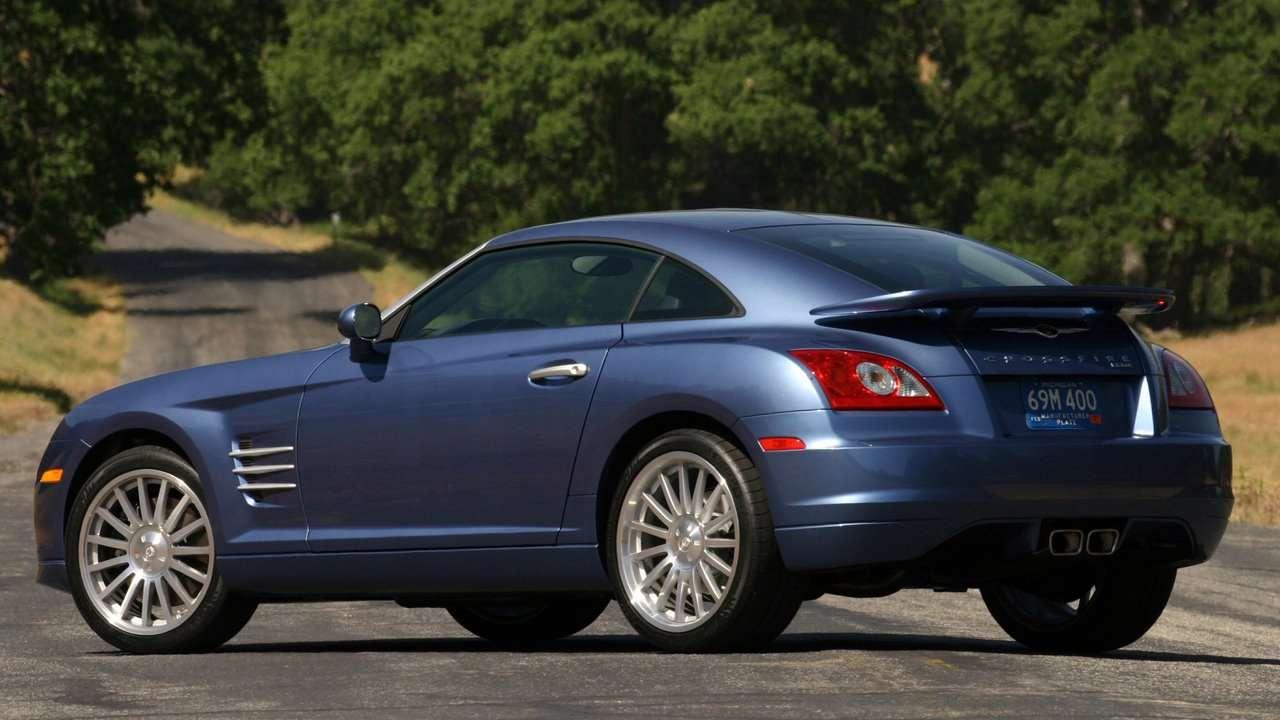 Chrysler Crossfire фото сзади
