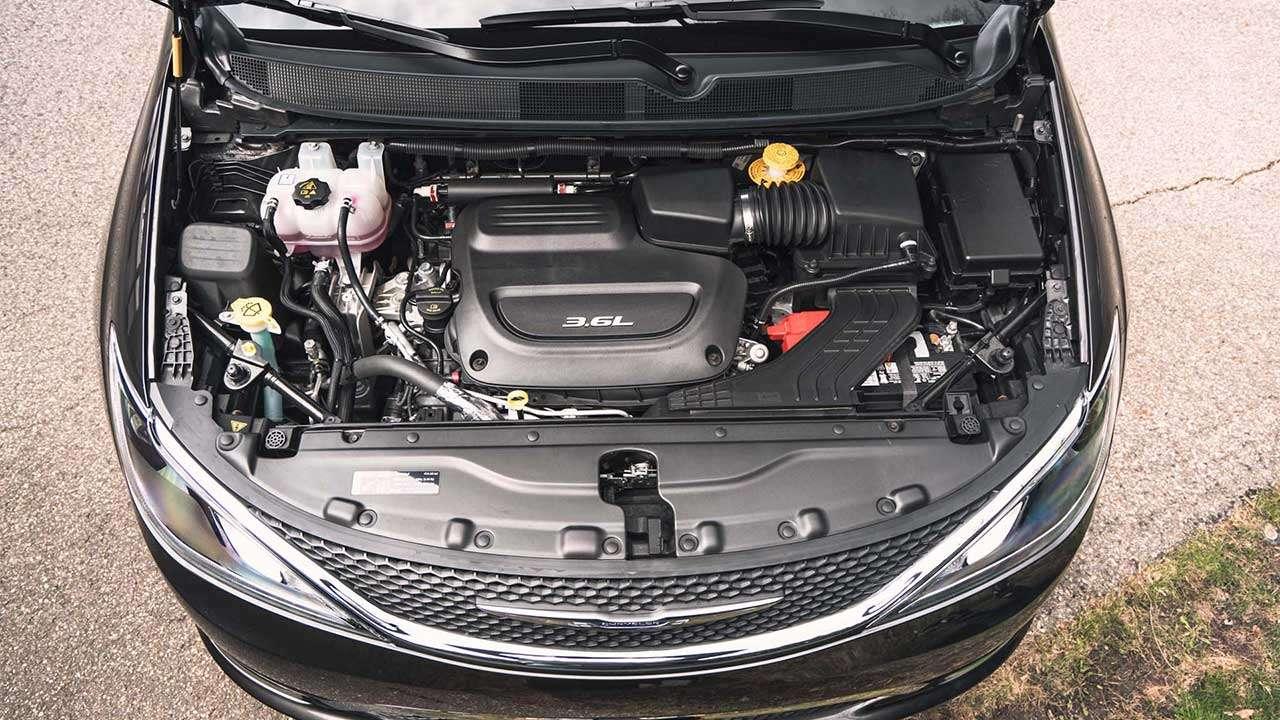 Фото двигателя Chrysler Пацифика 2019-2020