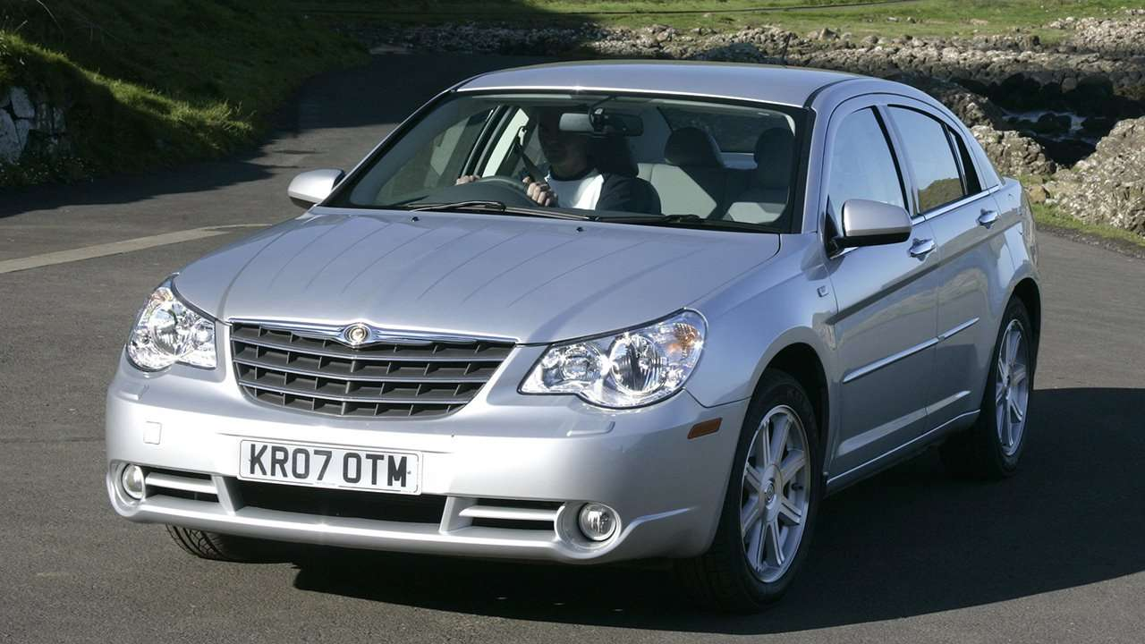 Chrysler Sebring фото спереди