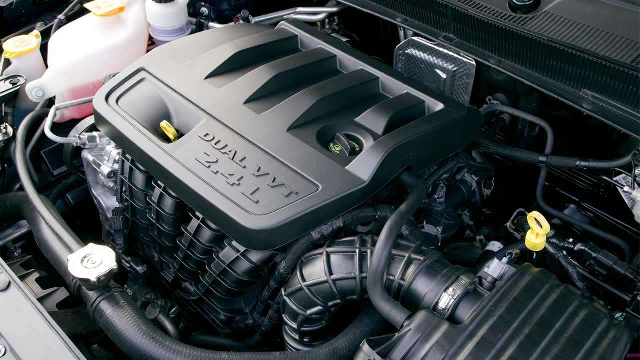 Фото 2,4-литрового мотора