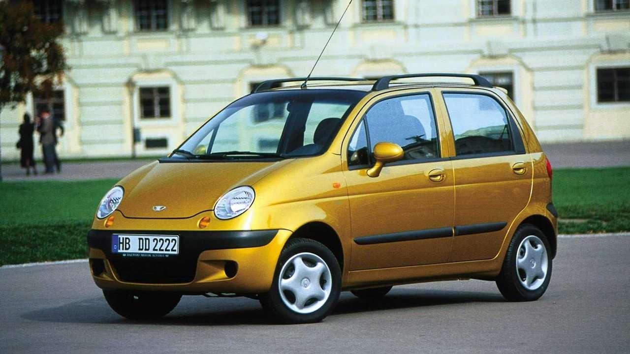 Daewoo Matiz фото спереди