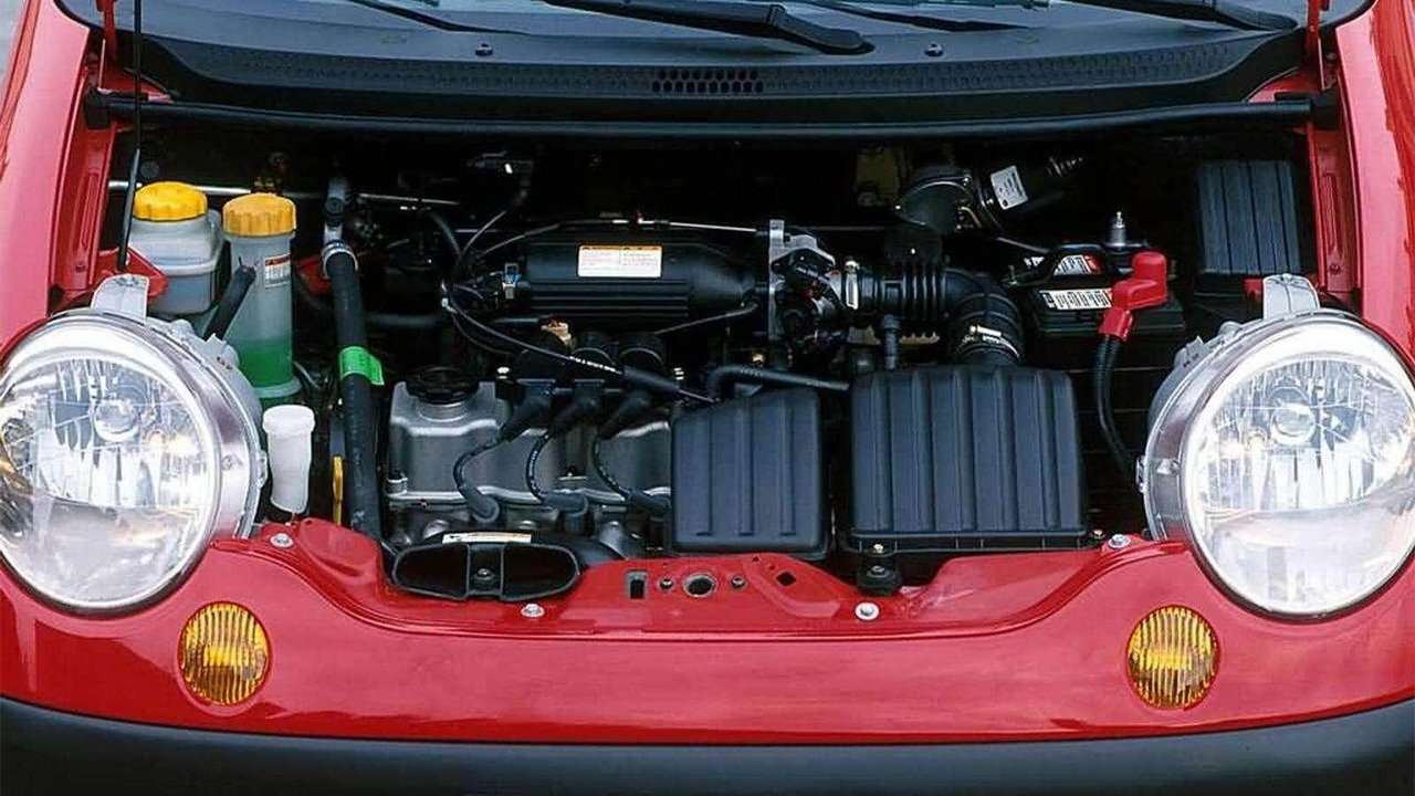 Фото двигателя Daewoo Matiz