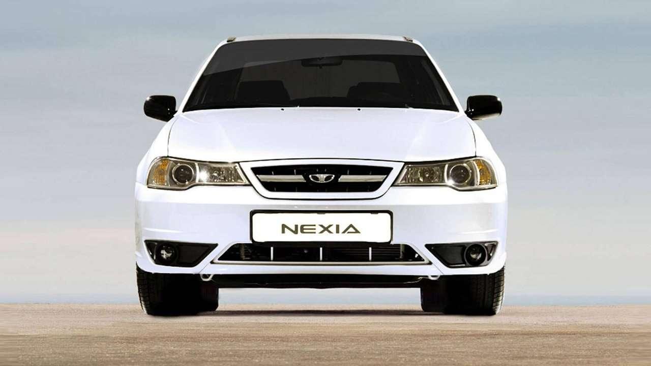 Daewoo Nexia фото морды