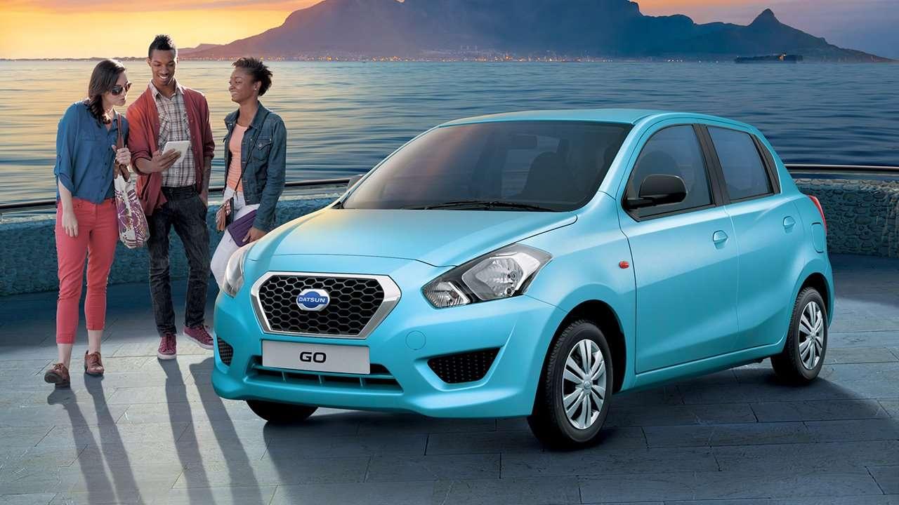 Datsun GO фото спереди