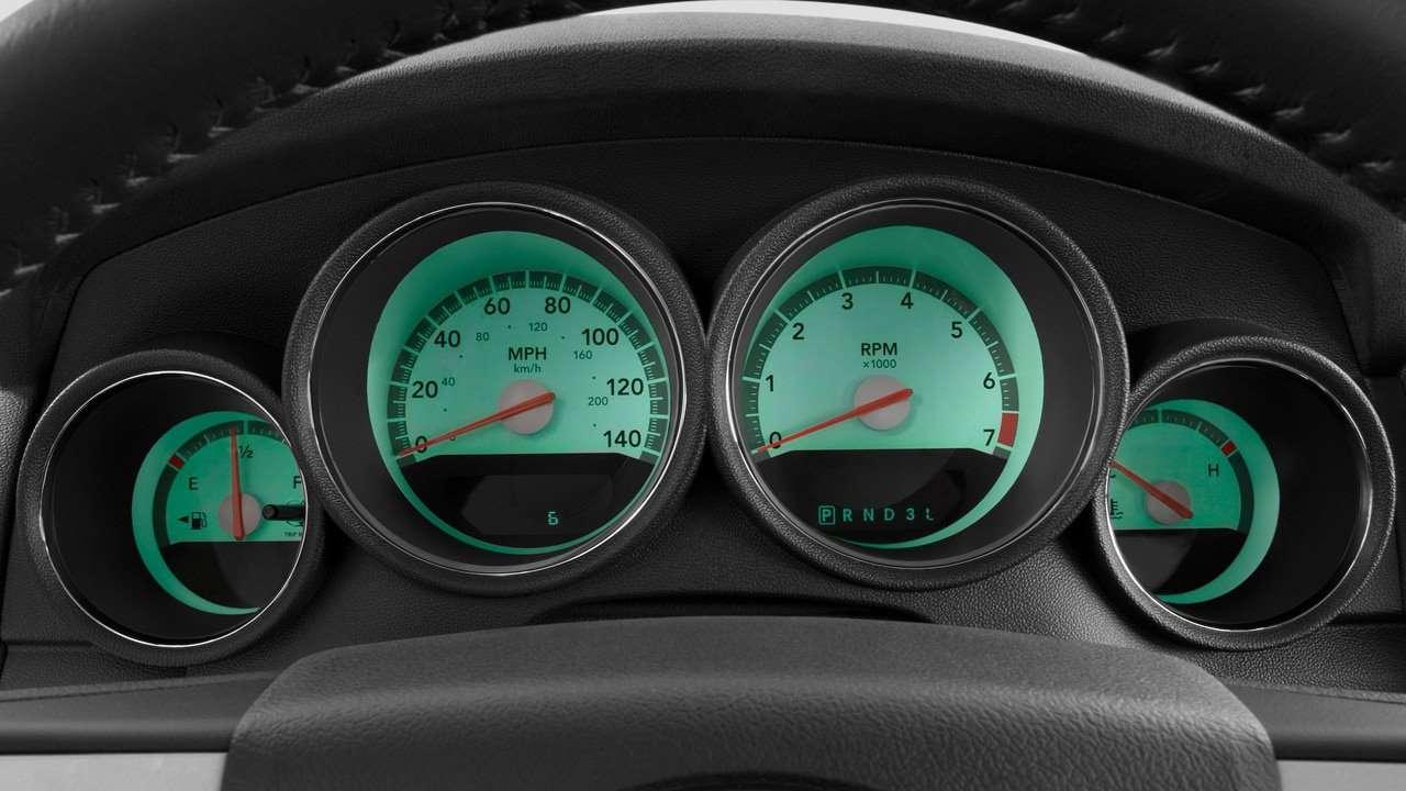 Панель приборов Dodge Charger LX