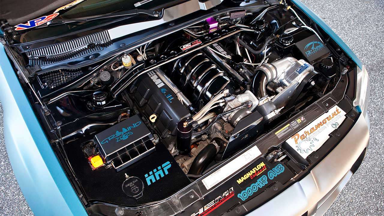 Двигатель Magnum 6.1 HEMI