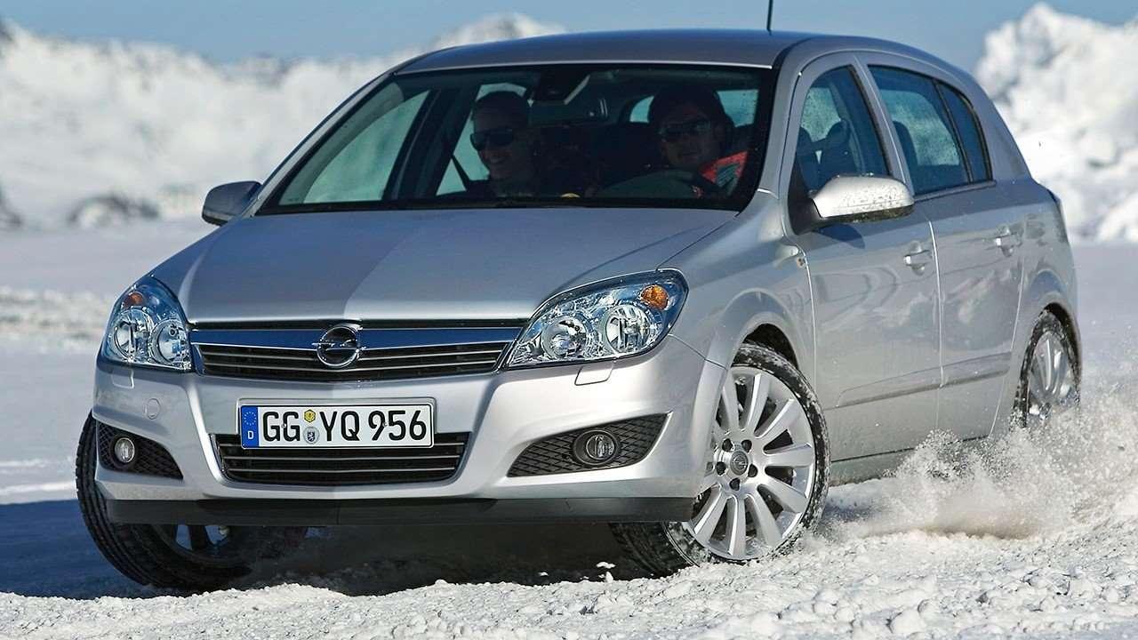 Дрифт на Opel Astra