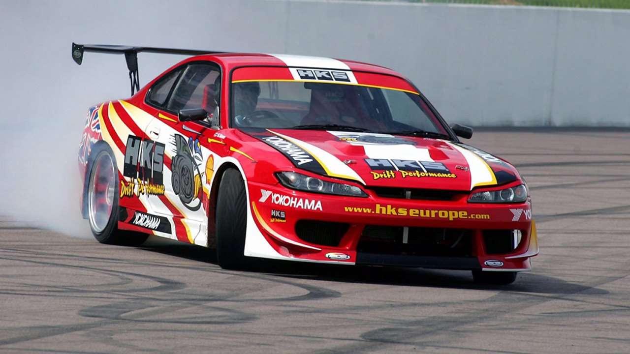 Nissan Silvia дрифт