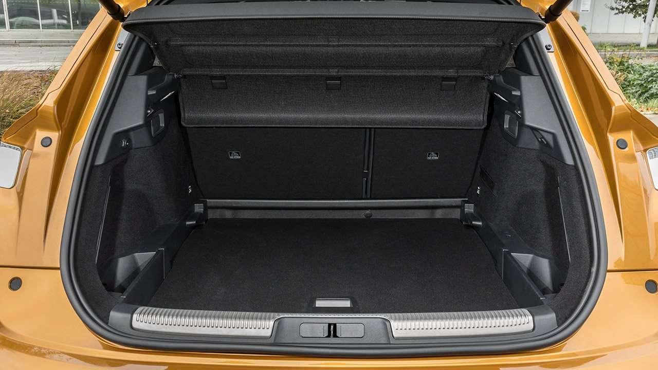Фото багажника DS 7