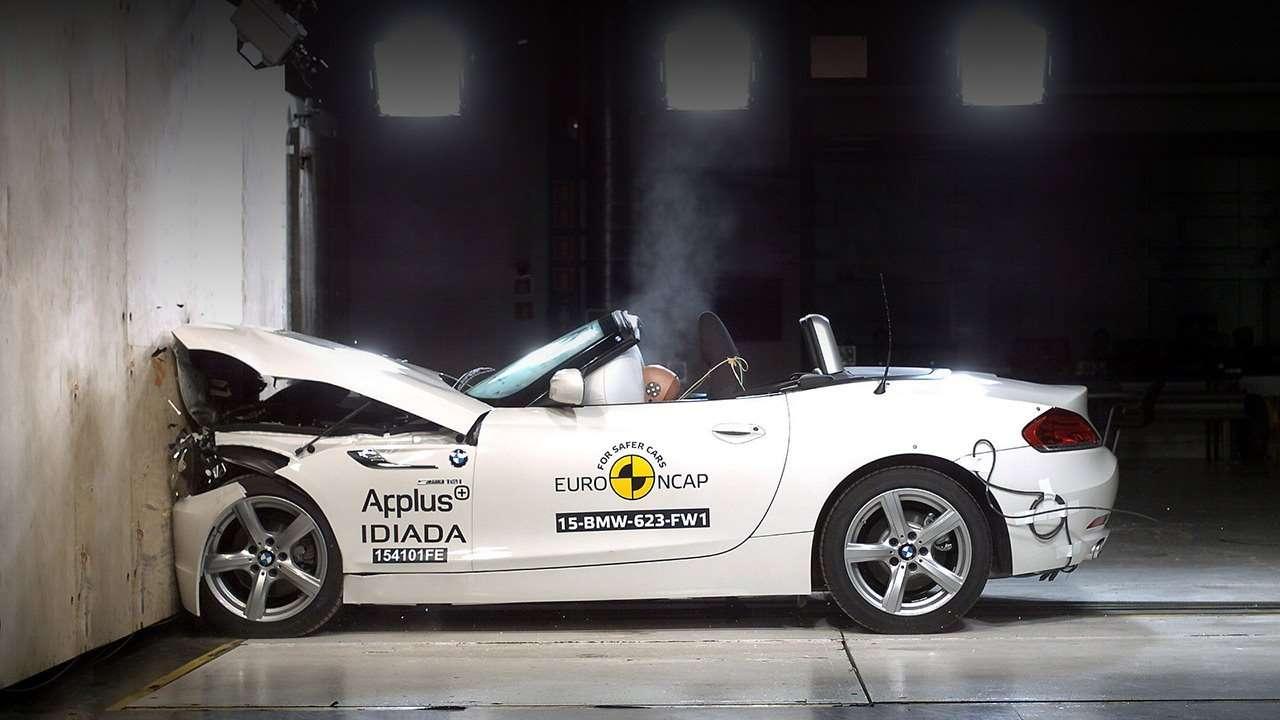 EuroNCAP BMW Z4