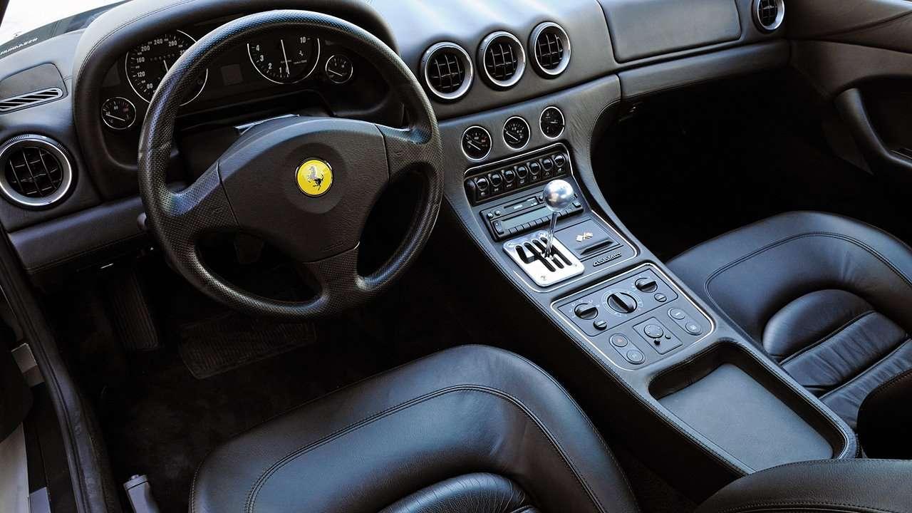 интерьер Феррари 456 ГТ