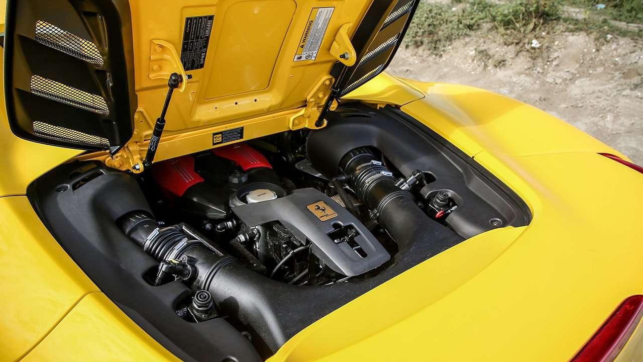 Двигатель Ferrari 488 GTB/Spider