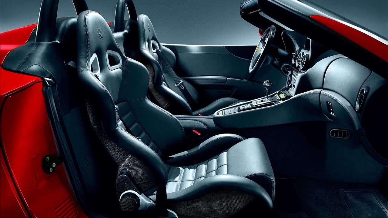 Сиденья Ferrari 550 Barchetta
