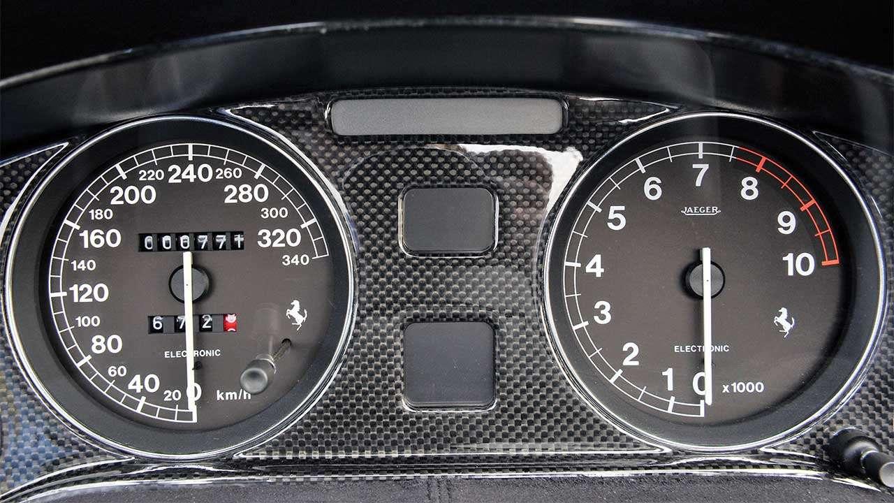 Приборная панель Феррари 550 Барчетта