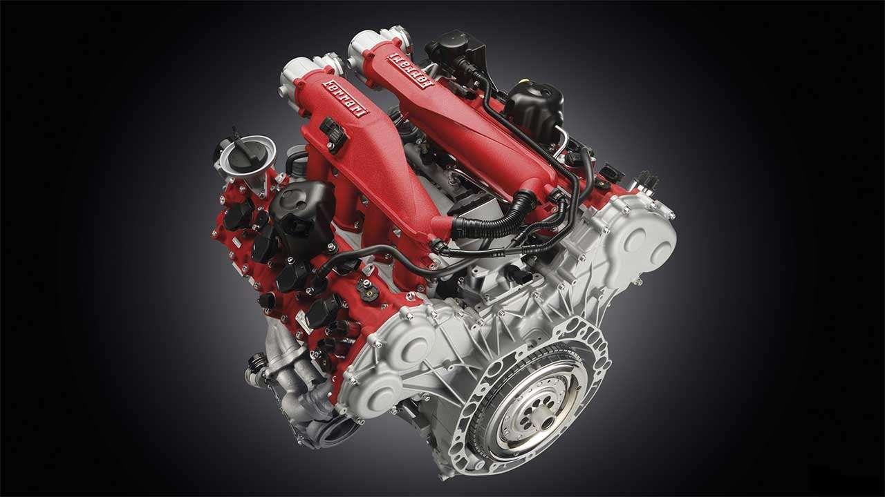 Фото двигателя Феррари California