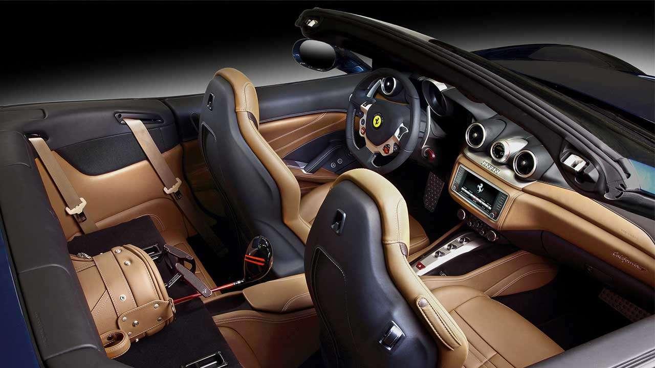 Сиденья Ferrari California T
